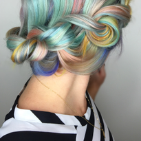 Macaron Haircolor Formula and Step-by-Step by @shelleygregoryhair