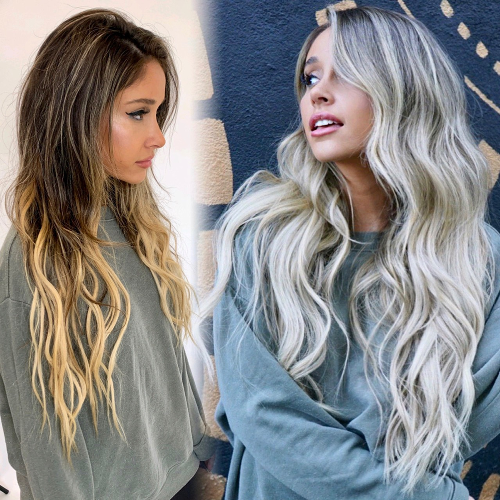 Hair color makeover by <strong>Kristin Grip</strong>(@HairByKristinGrip)