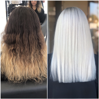 Hair color makeover by Kristyn Wilson (@Colorbykristyn)