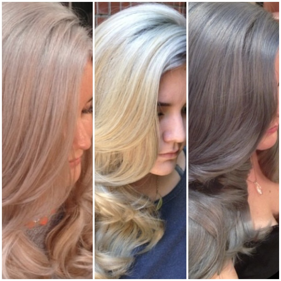 THE JOURNEY: Champagne to True Blonde to Silver