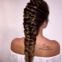 VIDEO: Pulled-Out Fishtail Braid Demo with Lala's Updos