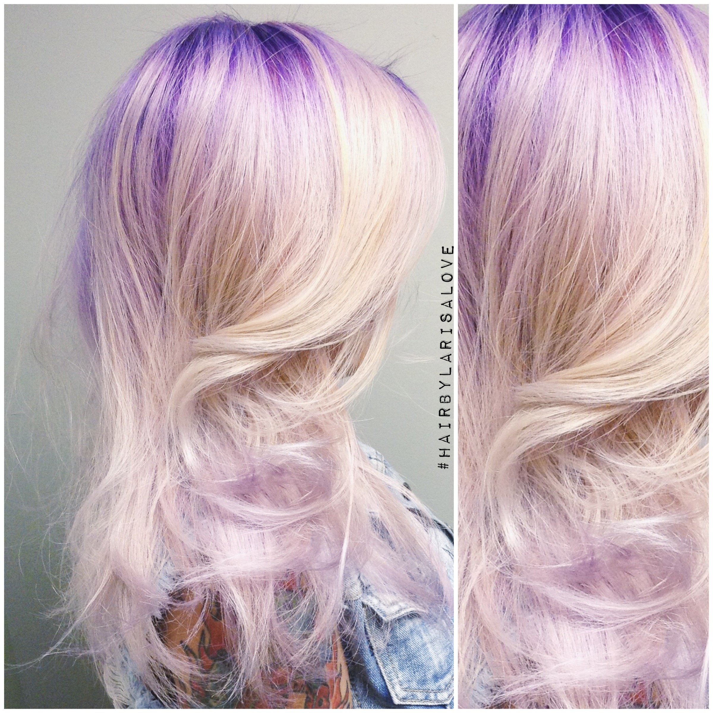 Purple To Silver...This Is Breathtaking