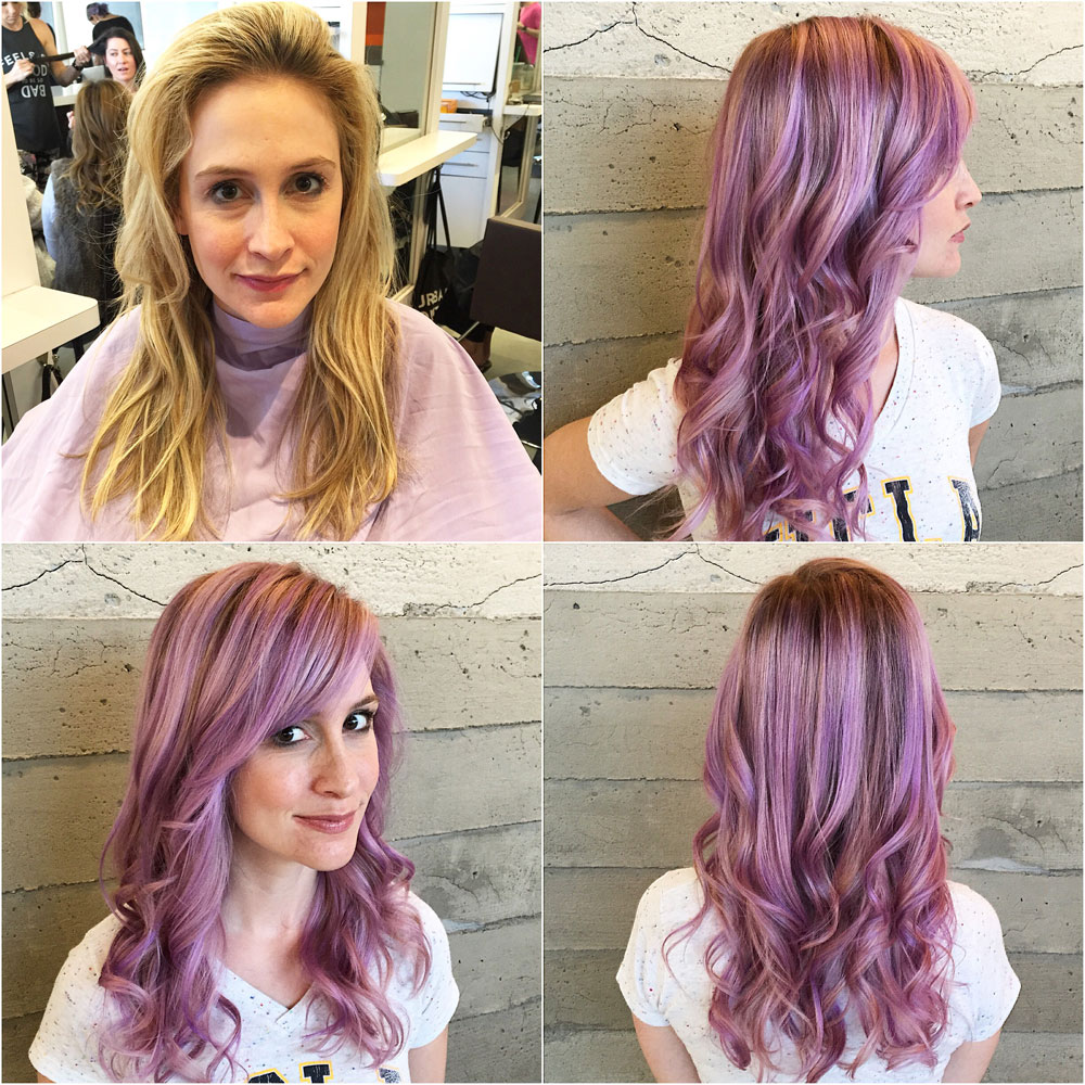 TRANSFORMATION: Lavender Color Melt