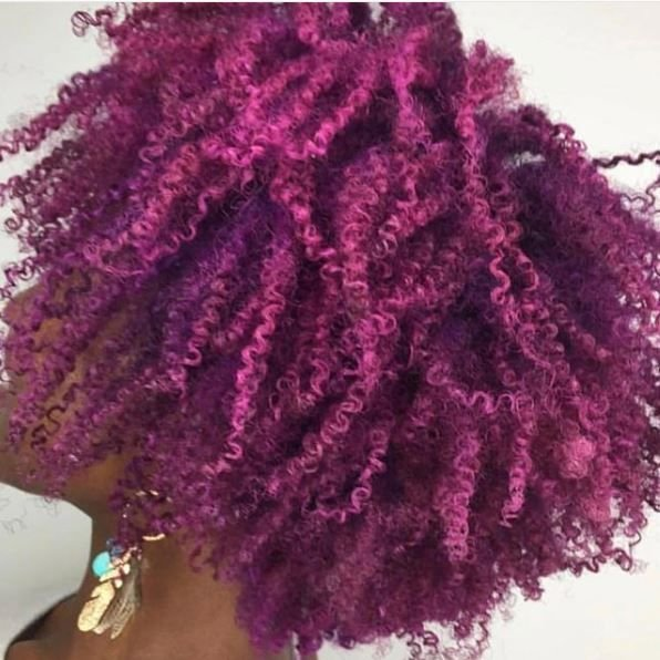 We love this fuchsia color work and the fun look it creates.