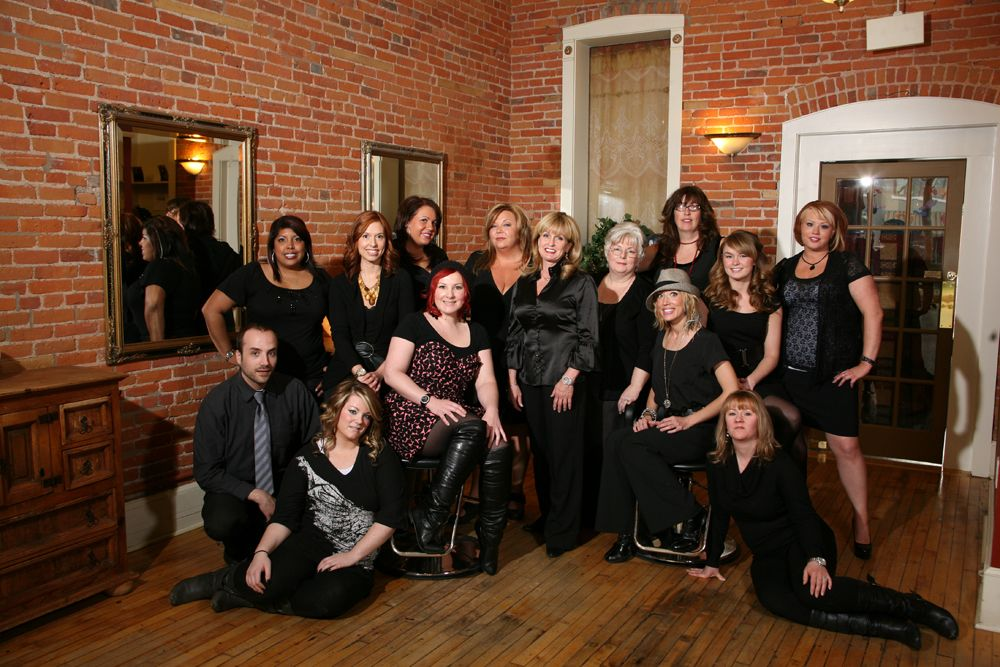 Staff of Legato Aveda Concept Salon in Farmington, Michigan