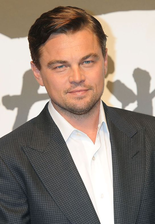 Actor Leonardo DiCaprio attends the Django Unchained Press Conference in Tokyo.