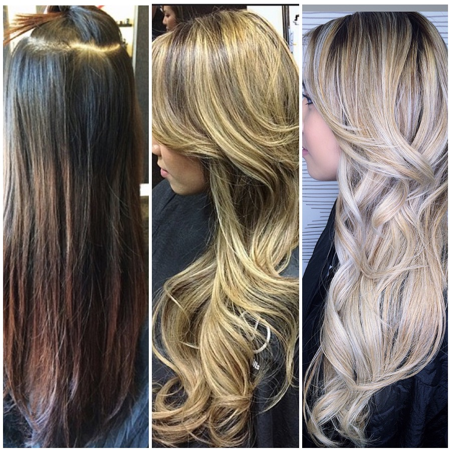 Dark Brown Box Color to Pale Ash Blonde: The Journey