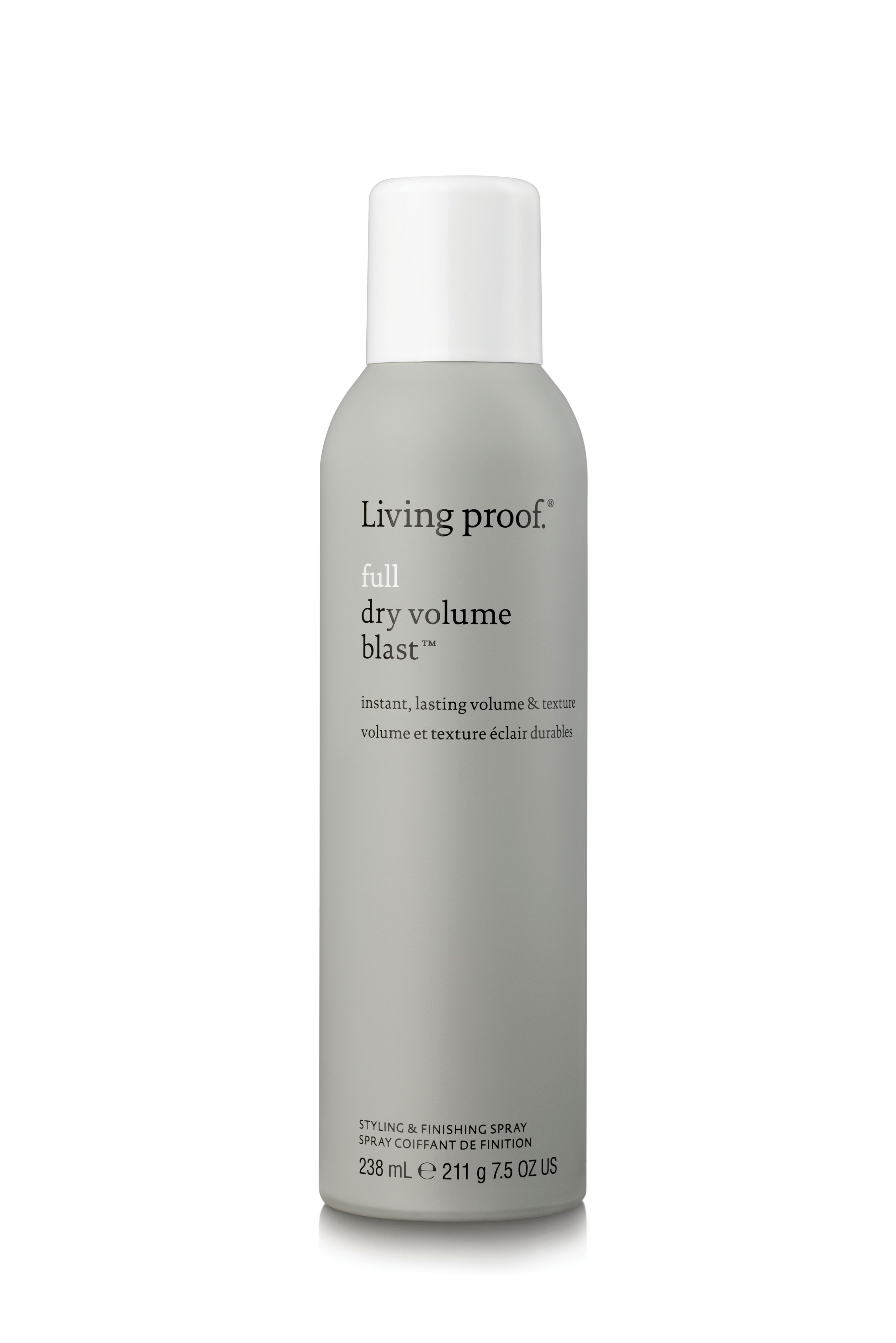How Living Proof's Dry Volume Blast Works to Add Major Volume: See the Before, After and Later