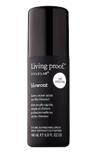<strong>Living Proof BLOWOUT:</strong> A professional looking blowout shouldn't require a standing salon appointment or a stylist on speed dial. Blowout is the faster, easier way to get a salon-worthy blowout yourself.