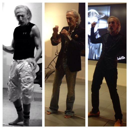 """""""Almost Famous"""" with Robert Lobetta at the Wella Studio LA"""
