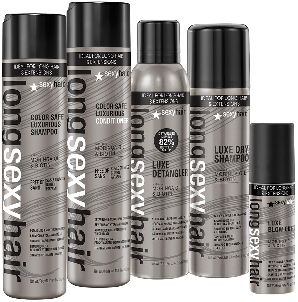 Finally! Products Exclusively for LONG-HAIRED Clients! Sexy Hair's Long Sexy Hair Collection