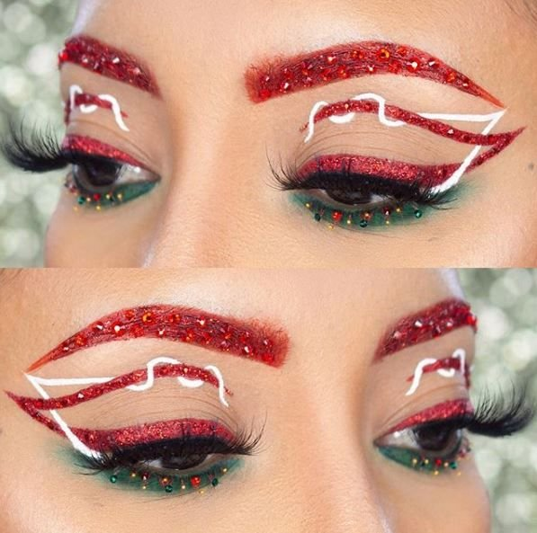 The bottom liner reminds us of Christmas trees.