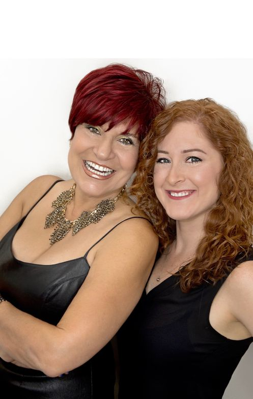Maggie DiFalco and Kelli Yoder of Maggie The Salon and K&M Hair Systems in Pembroke Pines, Florida.