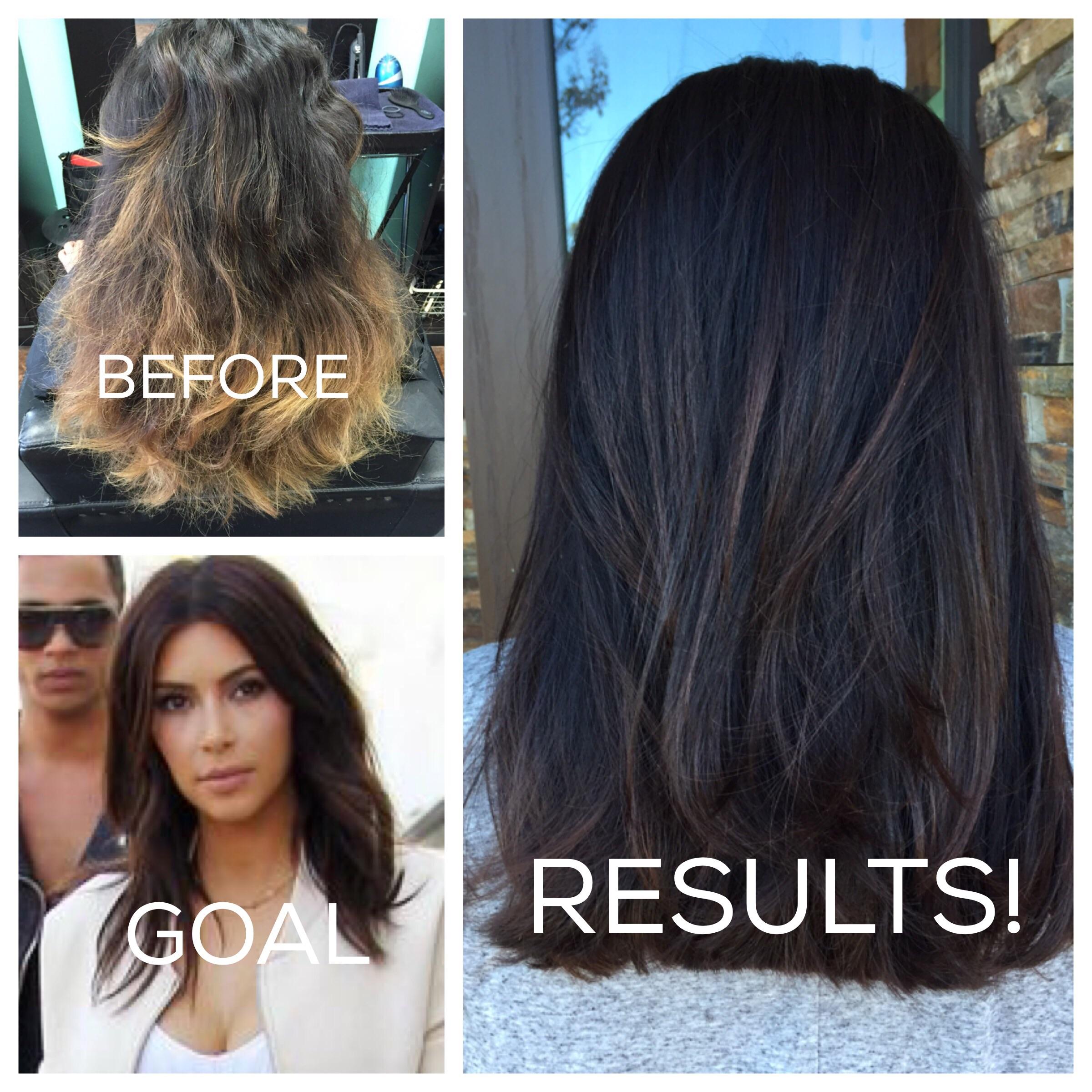 MAKEOVER: Kim Kardashian Inspired Color Correction