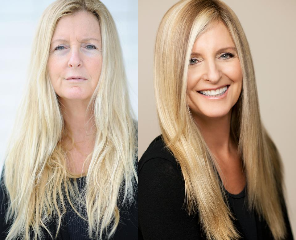 Mature Client Makeover by Marie Ferro