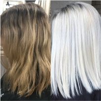 MAKEOVER: Cutting the Brass To a Nice Icy Blonde