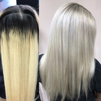 MAKEOVER: Dramatic Regrowth To Silver Ice