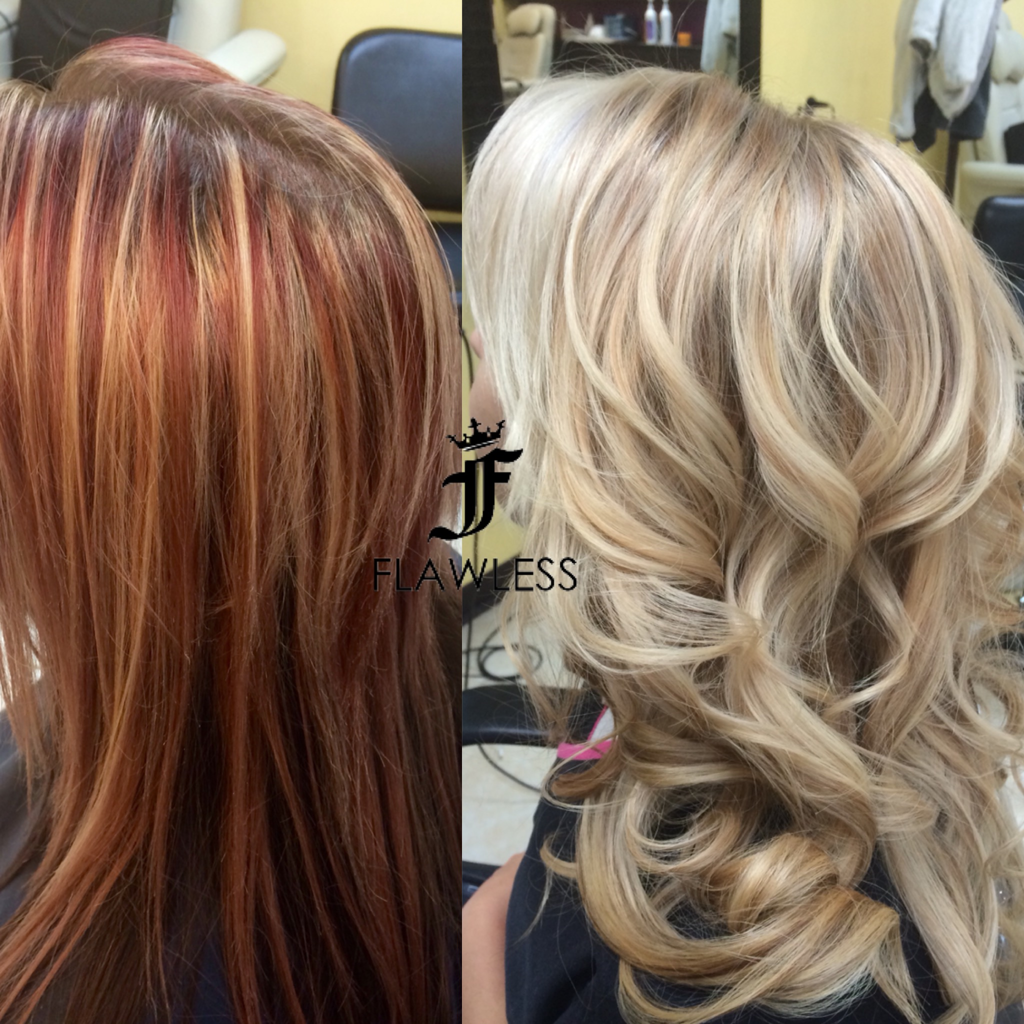 TRANSFORMATION: Going For BOMBSHELL Blonde