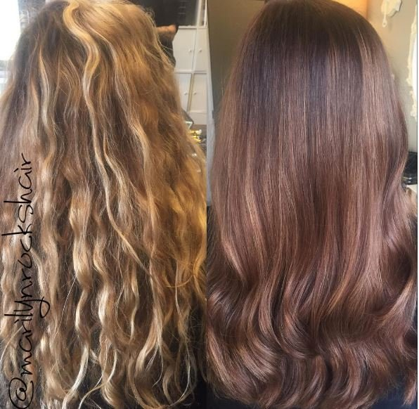 College-Bound Client's Cut and Haircolor Makeover