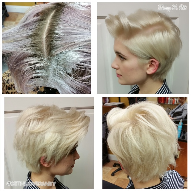 HOW TO: Cute Platinum Pearl Pixie