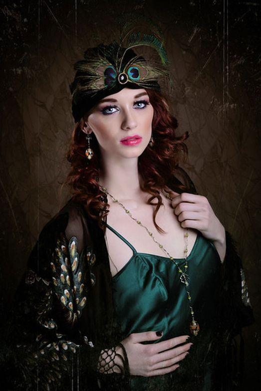 Make-up: Isidro Valencia.  Fashion Styling: Genna Yussman.