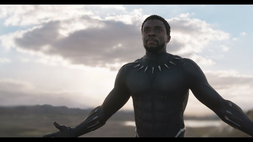 CHADWICK BOSEMAN FROM<br />MARVELO STUDIO'S BLACK PANTHER