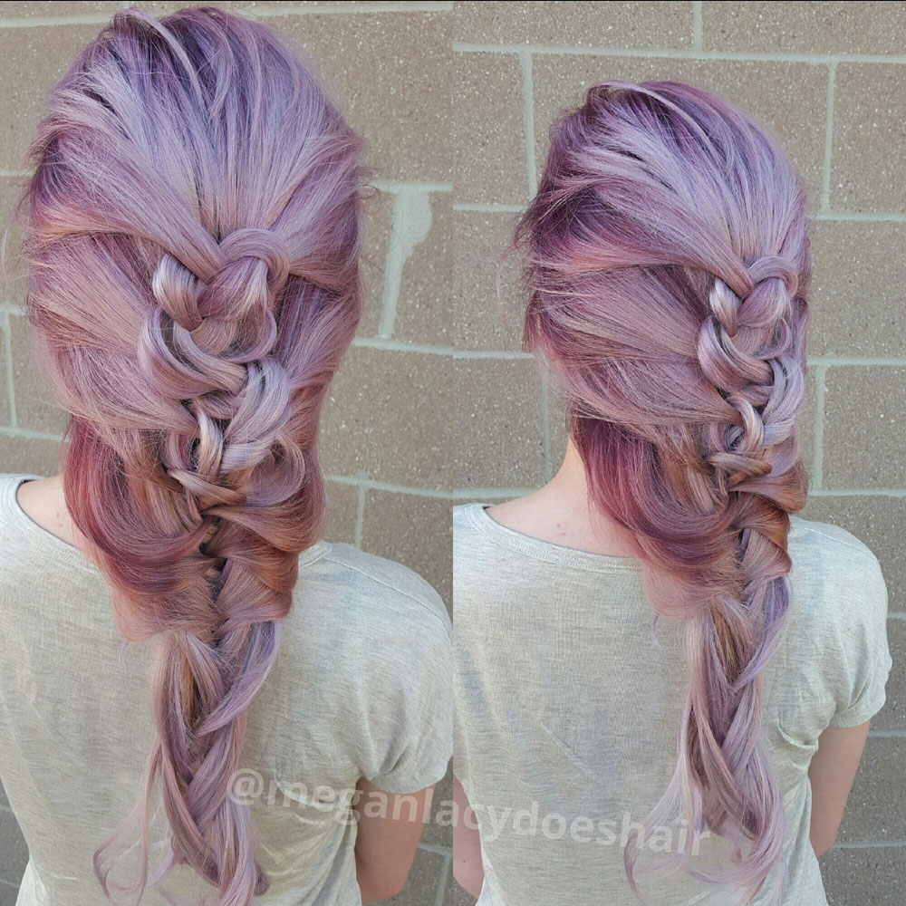 More views of the braid and color