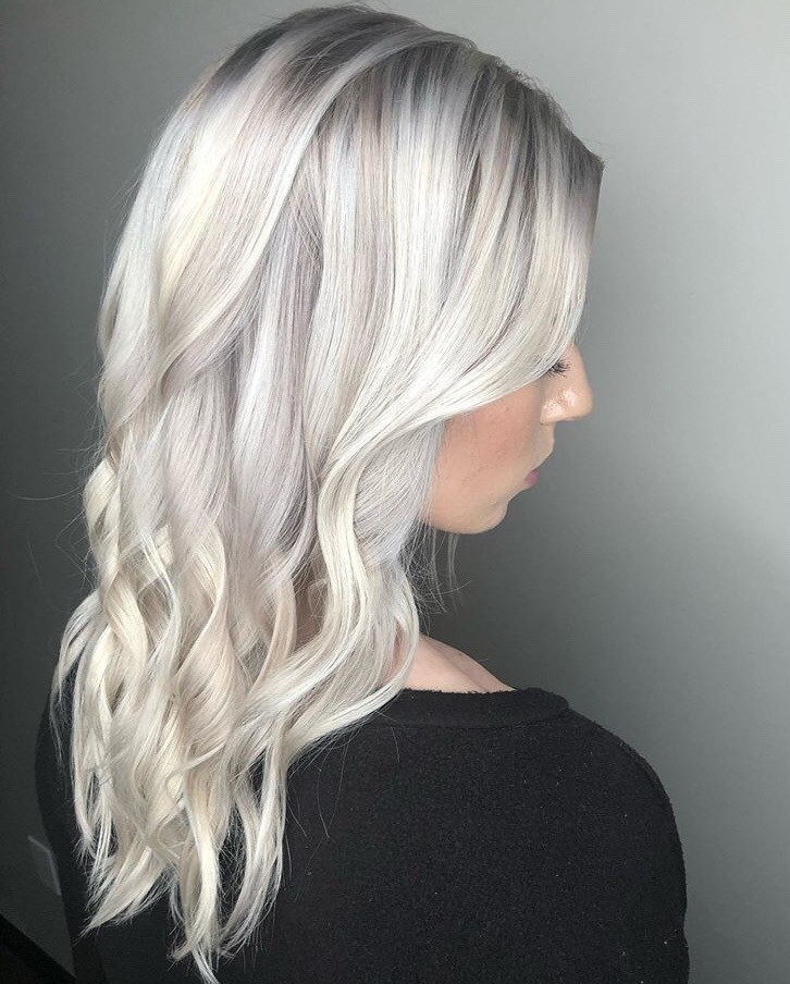 This icy blonde look was created by @studiobesalon_elizabetho using the Muted Metallics Silver.
