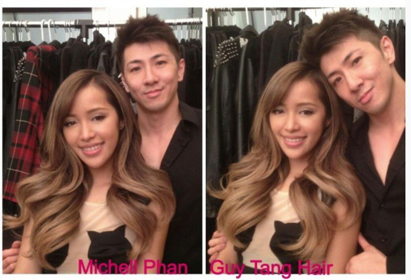 Guy Tang Creates Balayage on Make-Up Artist Michelle Phan