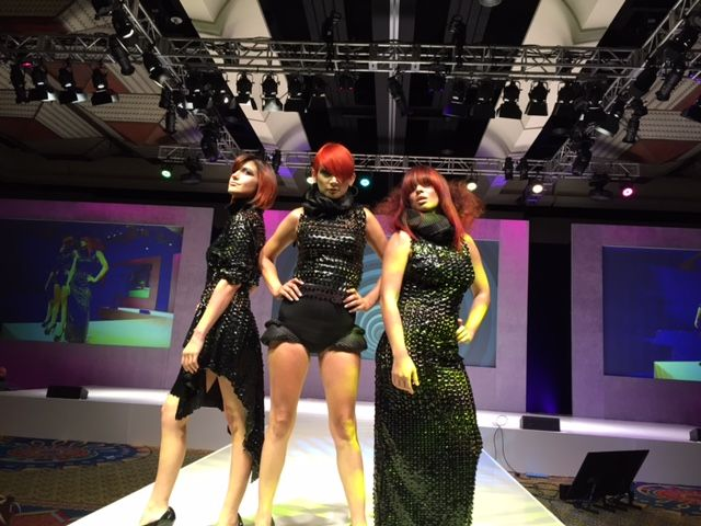 Models presented by CHI.