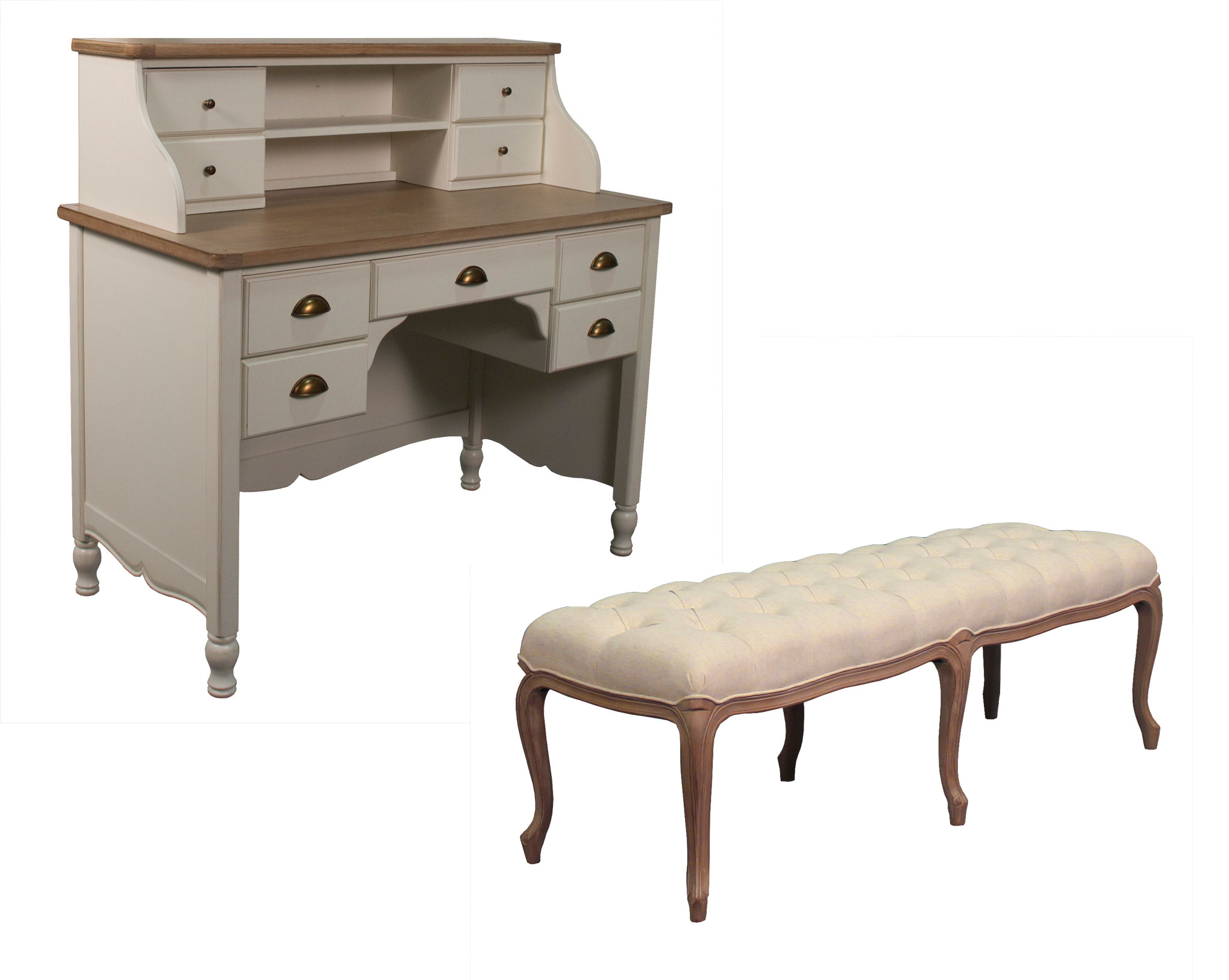 Minerva Beauty Added Two New Pieces to French Provincial Salon Furniture Collection – And More Is On The Way