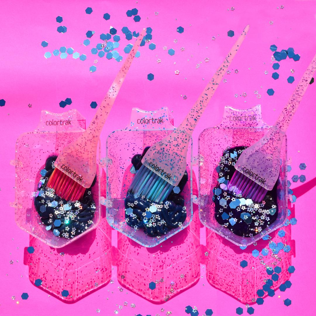 The Glitter Mini Trio Collection by Colortrak