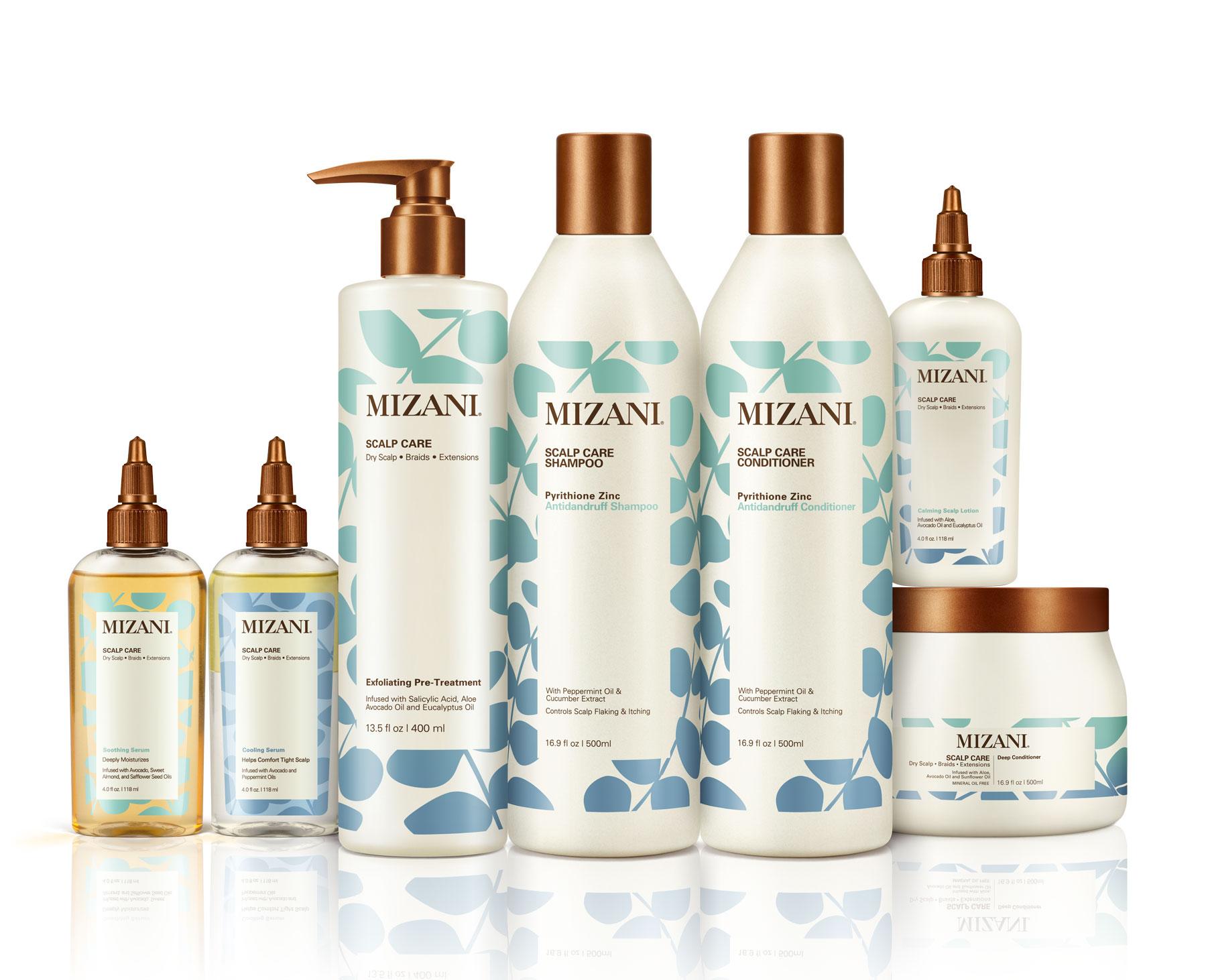 Mizani Introduces Scalp Care Professional Salon Service and Retail Range