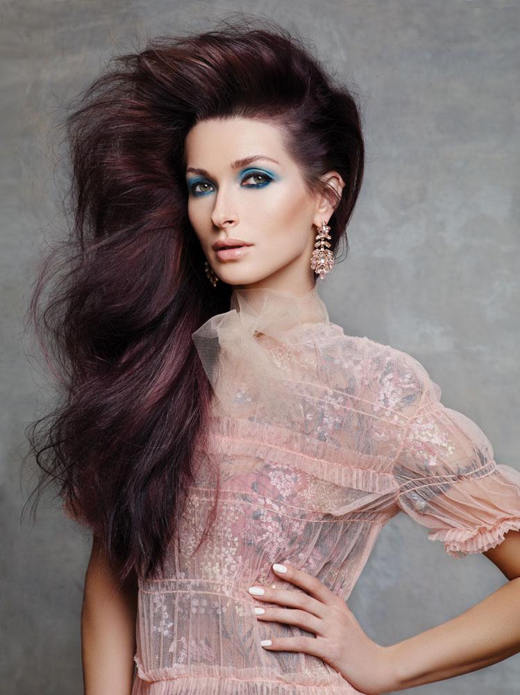 Pastel Whisper: Keune Explores Violet Brunette and Blorange Color Trends