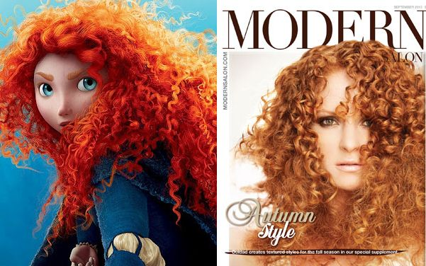 Brave's Fiery Red Curls Spark New Curl Trend