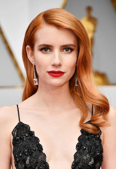 Emma Roberts at the89th Academy Awards in Los Angeles Frazer Harrison/Getty Images