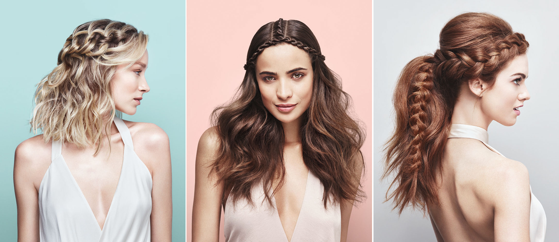 Faux-Chella: Three Festival-Inspired Braided Styles by Moroccanoil's Kevin Hughes