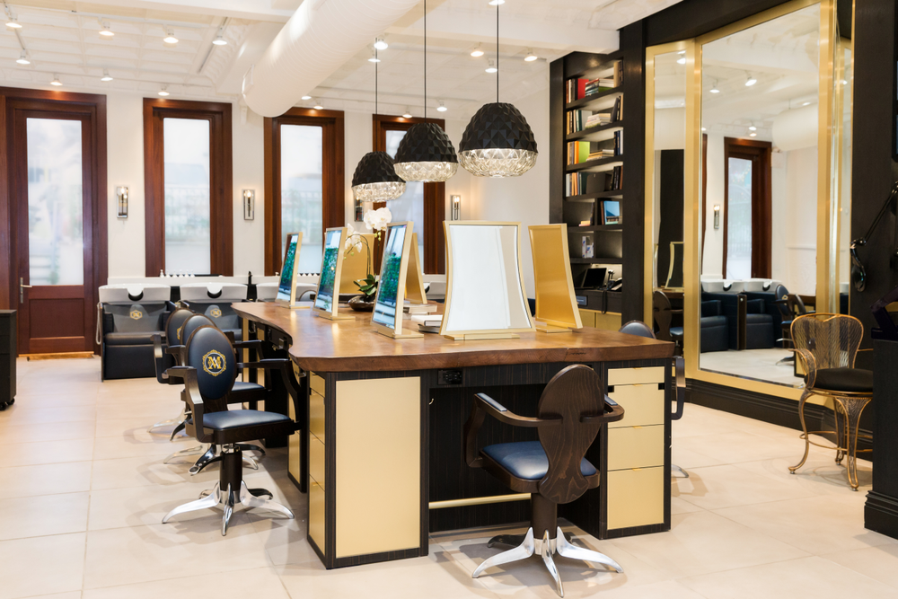 <strong>Maison D'Alexandre styling area</strong>