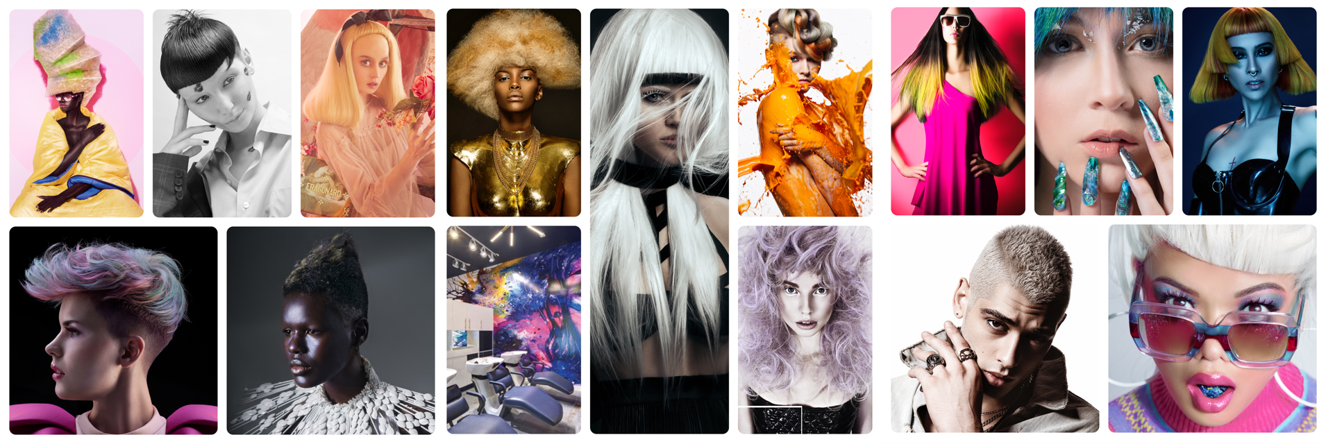 The 2019 North American Hairstyling Awards finalists have been announced in 15 categories. All NAHA images/photos are copyright © of the North American Hairstyling Awards and the Professional Beauty Association. All rights reserved.