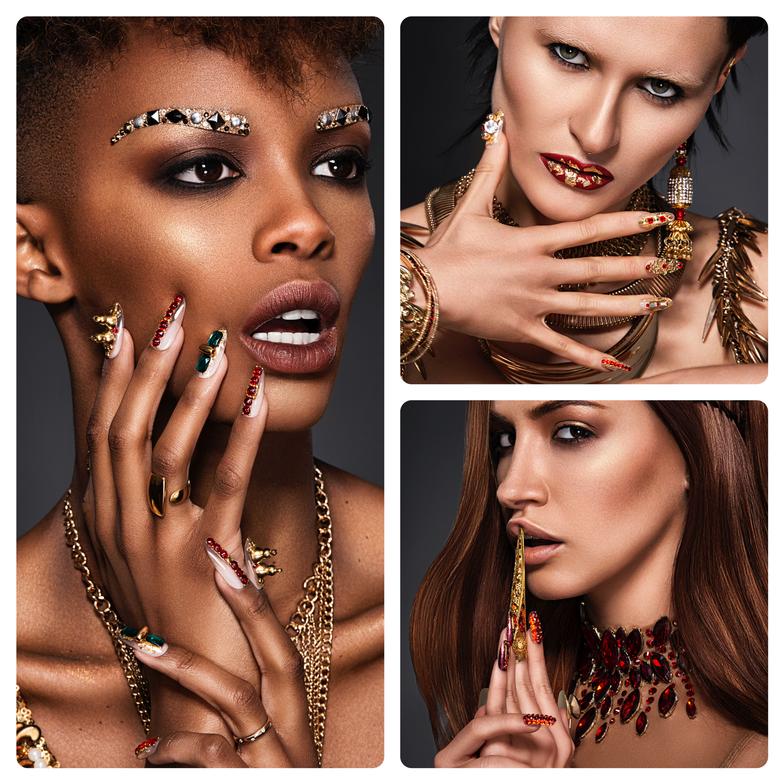 <strong>Nail Professional:</strong>Sarah Nguyen, Ammon Carver Studio, New York, NY