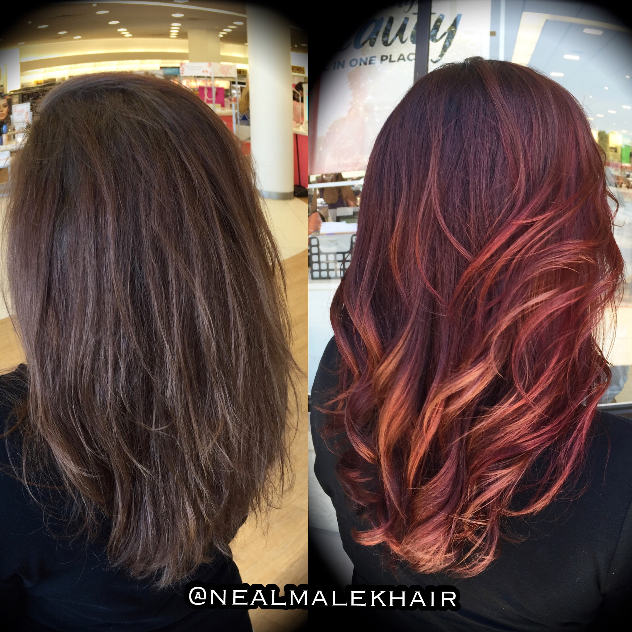 TRANSFORMATION: Marbled Ombre