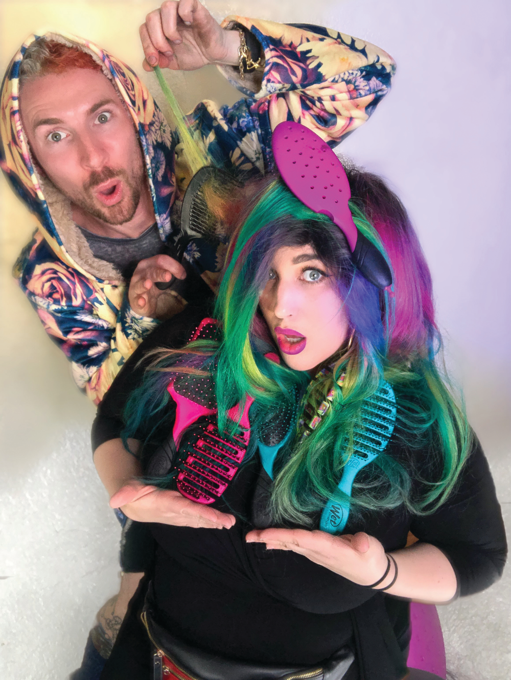 """I love using the Pro Backbar Detangler because it makes toning so much easier,"" says Neal Malek, known for his vibrant color creations. He adds that it also helps him colormelt with ease, seamlessly blending two or more hues together."