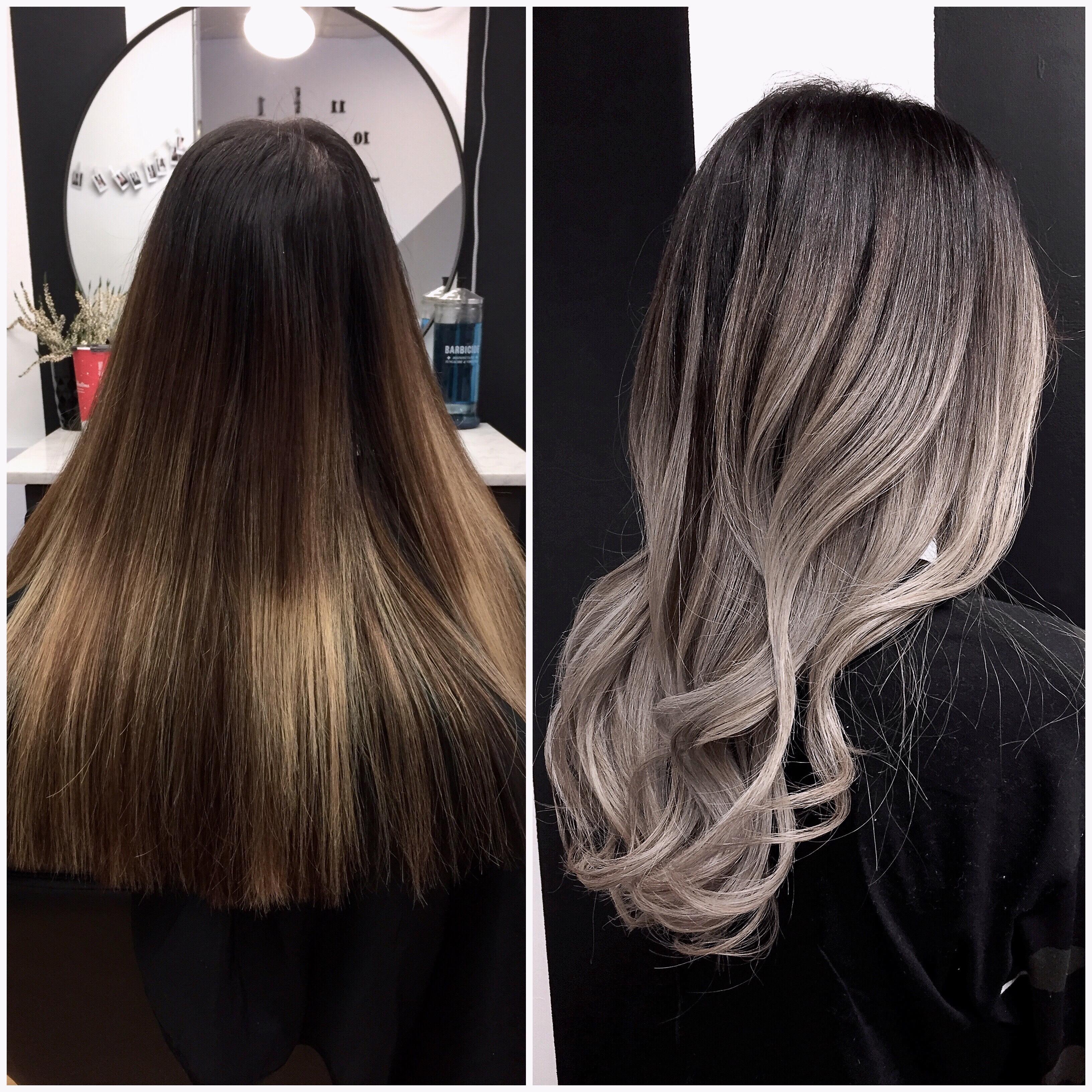 Hair color makeover by Nicole Graftner (@hairbynicoleg)