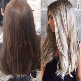 MAKEOVER: Microlights and Smart Toning For Silvery Blonde