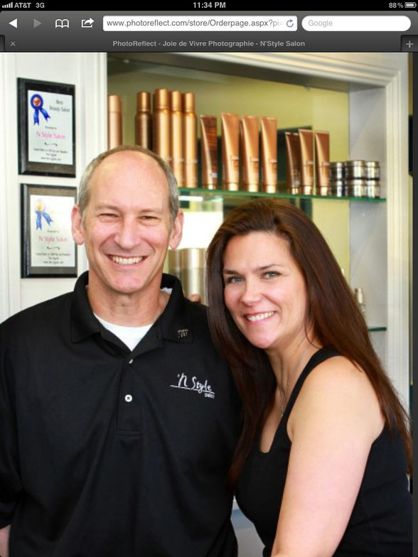 Clay and Tiffany Friedman of N Style Salon in Saugus, California