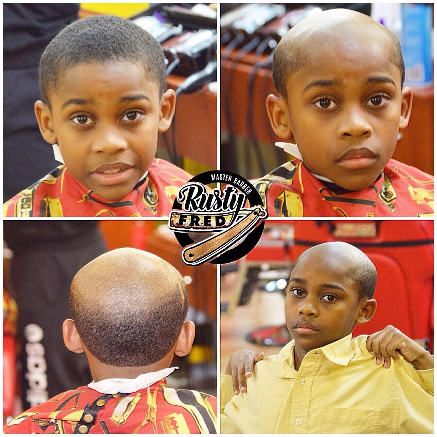 Barber Gives Misbehaving Children