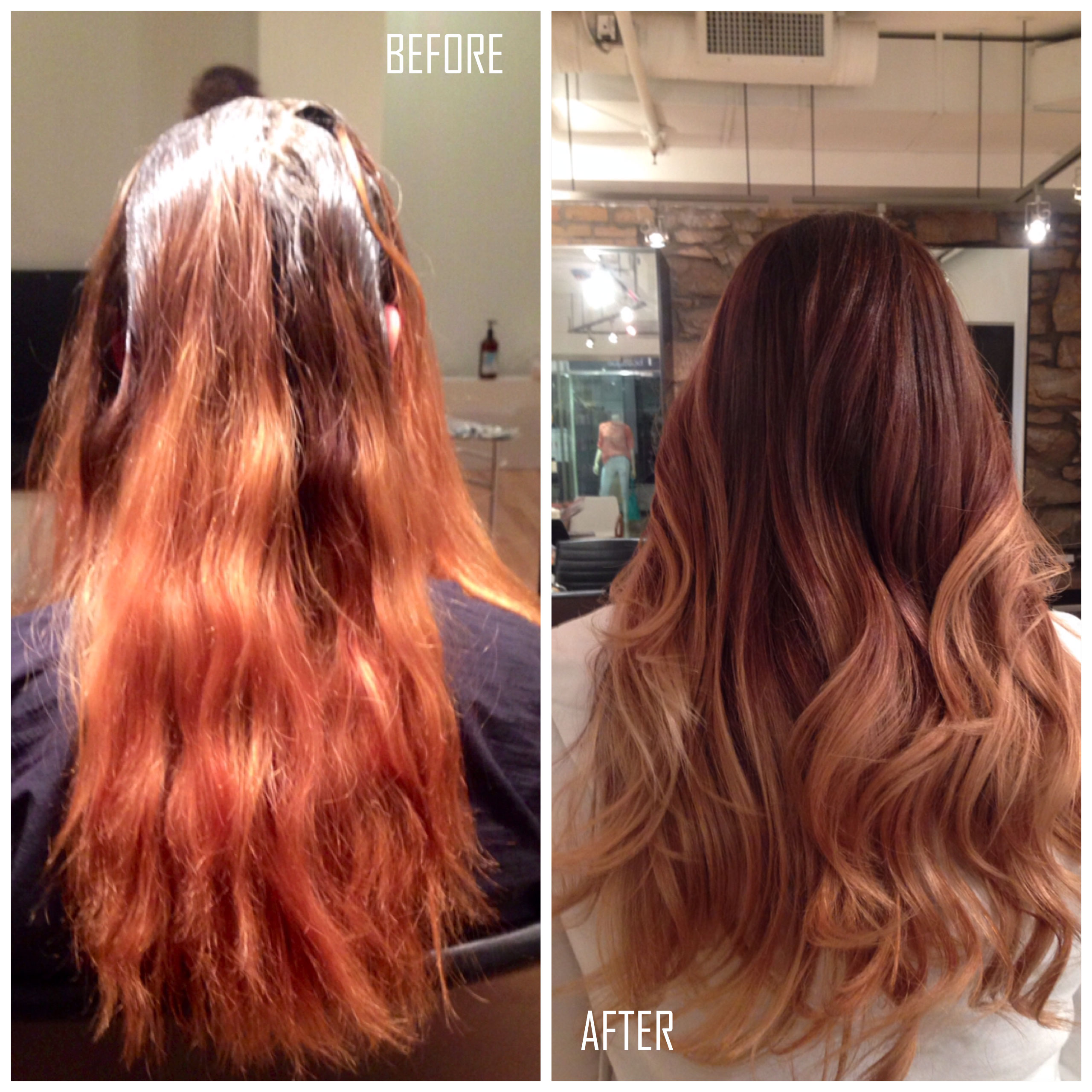HOW-TO: Create a Blended Ombre out of a Brassy & Patchy Mess