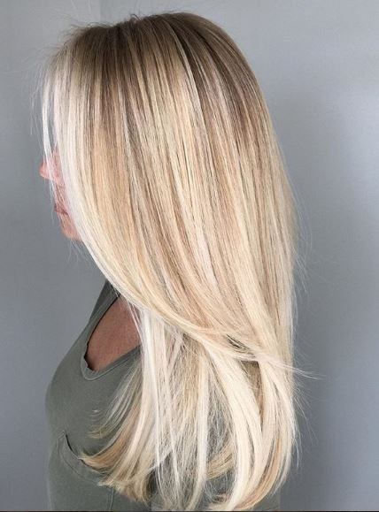 Sunny sunny blonde from @onceuponahair pushes all the clouds away.