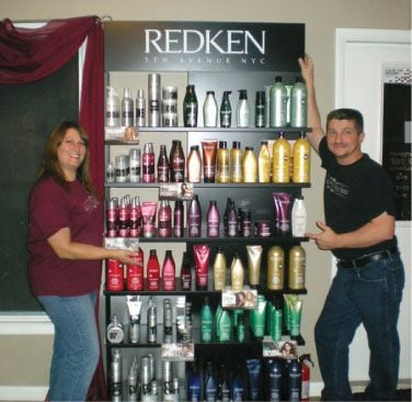 Stopping salon products in drug stores