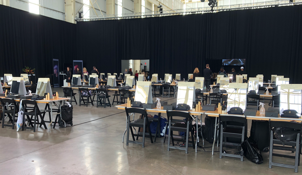 115 artists participated in the hands-on workshop.